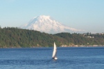 Mt Rainier from Gig Harbor (Wiki Commons)